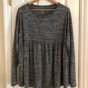 Heather Grey Sweater (Maternity)